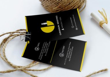 Gurukrupa Industries Business Card Image