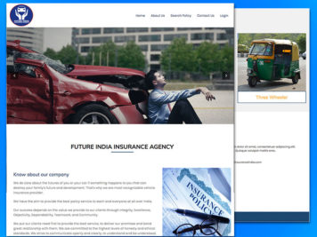 Future India Insurance Website Image