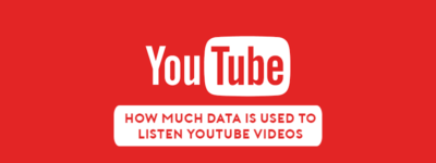 How Much Data is Used to Watch Songs or Any Videos off YouTube image