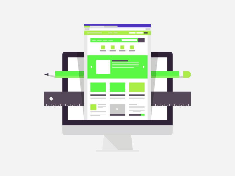Blog or Personal Website Design Image