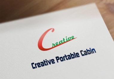 Creative Portable Cabins Logo Image