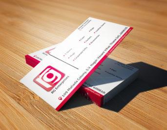 rg Enterprises Business Card Image