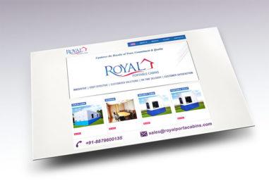 Royal Portable Cabins Website Image