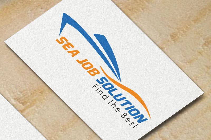 Sea Job Solution Logo Image