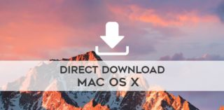 Direct Download macOS Sierra, El Capitan, Yosemite, Mavericks, Mountain Lion, Lion image