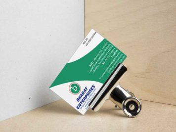 Bharat Enterprise Business Card Image