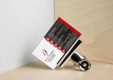 Shreeji Interiors Business Card Image