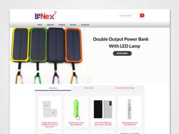 Lenex Website Image