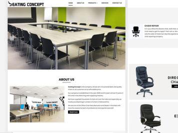 Seating Conpet Website Image