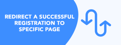 Redirect a Successful Registration to Specific Page (Without Plugin)✌️ image