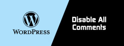 WordPress Disable All Comments Without Plugin (By MYSQL Snippet) image